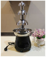 Free Shipping 2016 Hot Sale Chocolate Fountain Fondue Christmas Waterfall Machine For Event Wedding Children Birthday