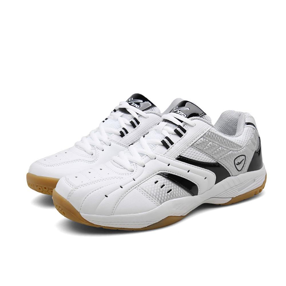 Chaussures de Badminton légères respirantes pour hommes chaussures de Sport à lacets femme chaussure de Sport d'entraînement chaussures de Tennis antidérapantes