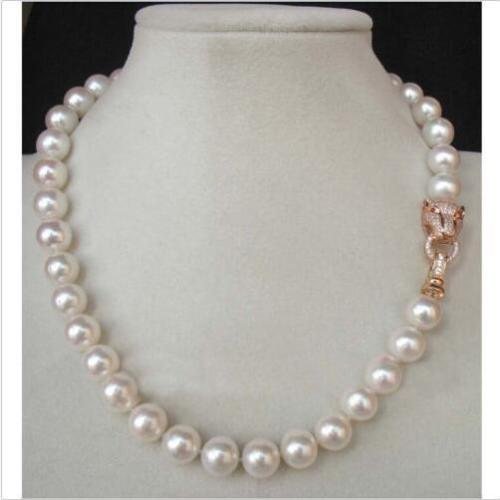 beautiful Genuine white akoya pearl necklace 10-11mm 18beautiful Genuine white akoya pearl necklace 10-11mm 18