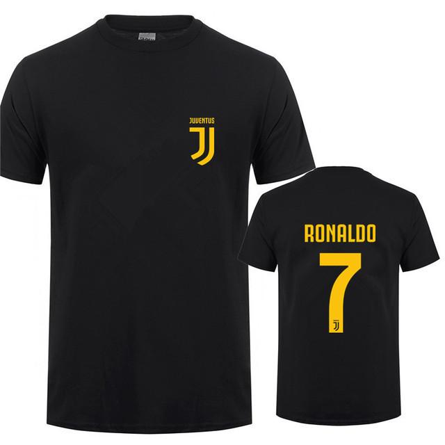 New Fashion Cristiano Ronaldo T Shirts Tops Men Short Sleeve Cotton Man CR7 T-shirt Tshirt Tee DS-010