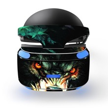wolf decal PSVR Skin Sticker for Sony Playstation PS VR Headset