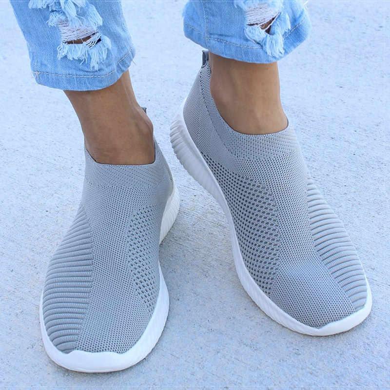 ผู้หญิงแบนลื่นบนรองเท้า Espadrilles ผู้หญิง Super Light สีขาวรองเท้าผ้าใบฤดูร้อนฤดูใบไม้ร่วง Loafers Chaussures Femme ตะกร้ารองเท้า