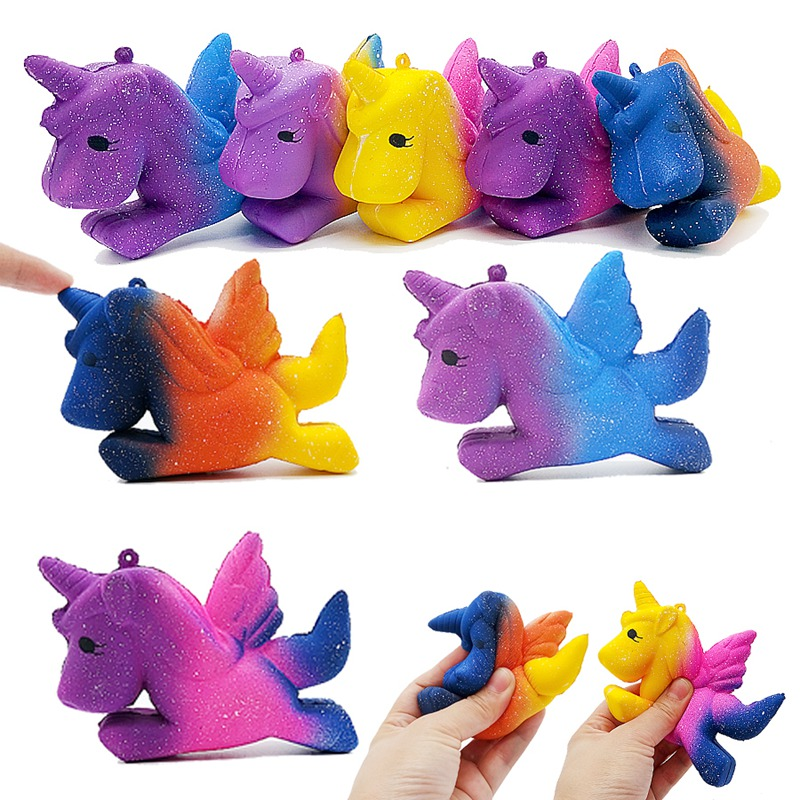 Squishy Unicorn Squish Antistress Novelty Gag Toys Anti Stress Relief Toy Gadget Funny Popular Squeeze Surprise Practical Jokes