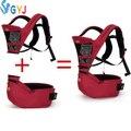 Кенгуру сумка слинг с кольцами 360 эргономичный рюкзак bebek kanguru эргономичный кенгуру hipseat демонтировать красный синий назад