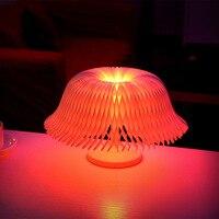 Creative Touch Sensor Desk Lamp USB LED Night Light Colorful Bedside Lamp Heart shap Light Bedroom Christmas Decoration Gift
