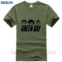 New Arrival Green Day Printed T Shirt Men Fashion 2017 Summer Short Sleeve O Neck Cotton