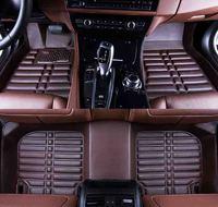 Custom car floor mat for auto Volkswagen tiguan up CC passat b5 b6 b7 b8 polo golf 4 5 6 jettae touran touarege car accessories