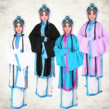 Chinese folk Stage Outfit Carnival Peking Chuan Opera improved Long robe costume Coat+ Skirt film TV Operas performance