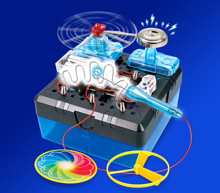 Kids' Integrated Circuit Boards and STEM Experiments