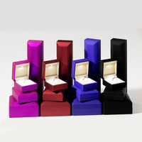 Free shipping 2019 new High grade led with lamp , propose to wholesale necklace pendant ring jewelry boxes