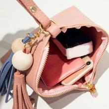 Tassel Trendy Small Triangle Wallet