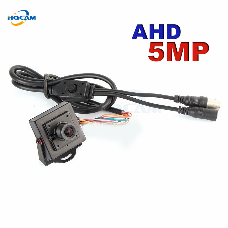 HQCAM AHD 5MP Mini AHD Camera OSD menu 1 2 9 CMOS FH8538M IMX326 Mini AHD