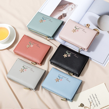 цена на Short Wallet for Women 2019 Fashion Clutch Coin Purse Small Wallets with Card Holder Lady Zipper Designer Money Bag
