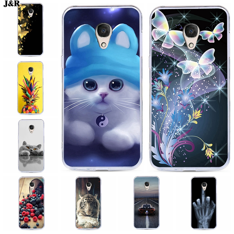 J&R Phone Case For Alcatel 1 1C 1X 3 3C 3L 3X 3V 5 5V Cute Cartoon Cat Tiger Animal Printed Soft TPU Silicone Back Cover Cases