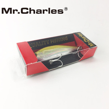 Mr.Charles CMC012 Fishing Lures , 80mm/10.2g 0-0.8m Suspending High Quality Minnow crankbait fishing lure Hard Bait