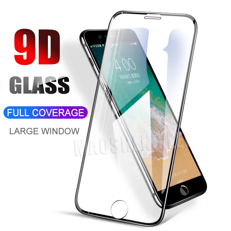 2pcs/lot Full Cover Tempered Glass For IPhone 6 6s 7 8 Plus Screen Protector Anti Blue Light Glass For IPhone 6 7 8 Glass Film