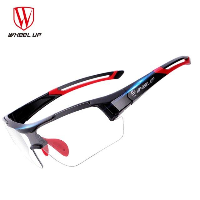 f951f98dd5fa5 RODA para CIMA Photochromic Óculos de Ciclismo MTB Estrada Bicicleta  Desporto Ao Ar Livre À Prova