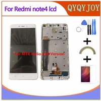 High Quality LCD Display Digitizer Touch Screen Assembly For Xiaomi Redmi Note 4 Hongmi Note4 MTK