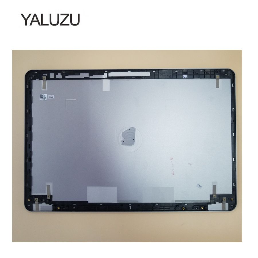 YALUZU New For Dell for Inspiron 15 7000 7537 LCD Back Cover Lid A Shell 7K2ND 07K2ND 60.47L03.012 For touch screen lcd top case new original for dell inspiron i7569 1832 7569 lcd back cover lid touchscreen gcpwv silver