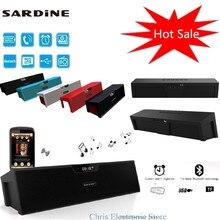 Сардины SDY-019 Портативный беспроводной Bluetooth Динамик стерео Саундбар TF fm-радио двойной громкоговоритель 3.5 мм разъем USB TF SDY019