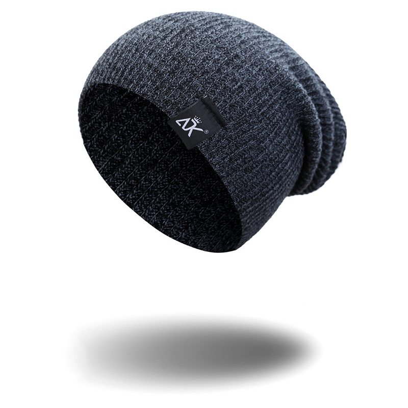 Sale 1PC Casual   Skullies     Beanies   Knitted Hat Winter Unisex Keep Warm   Beanie   Cap for Men Women