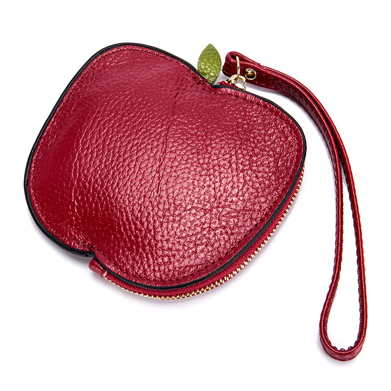 Genuine Leather Women Coin Purse Girls Cute Fashion Ladies Kids Mini Wallet Bag Change Pouch Key Holder Small Money Wristlet Bag 2017 new fashion women owl cute pu leather change purse wallet bag girls coin card money pouch portable purse small bag jan12