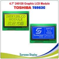 240128 240*128 grafik Matrix LCD Modul Display Screen Touch Panel bauen-in T6963C Controller Gelb Grün Blau mit Hintergrundbeleuchtung