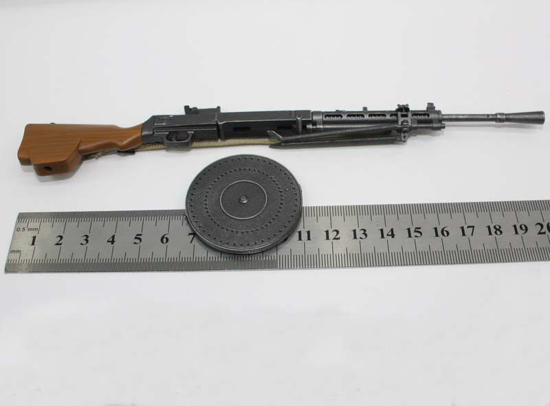 1/6 Scale Model Gun DP28 WW2 Russian LMG Degtyarev Light Machine Gun Model for 12 inches Soldier Figure russian traditions russian cuisine russian folklore 2 dvd