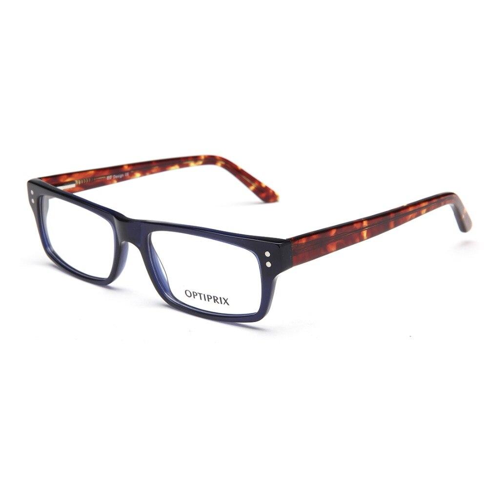 Laura Fairy Eyeglasses Frame Oculos Acetato Fashionable Color Block Quadro Decorativo Acetate Glasses Frame 2016