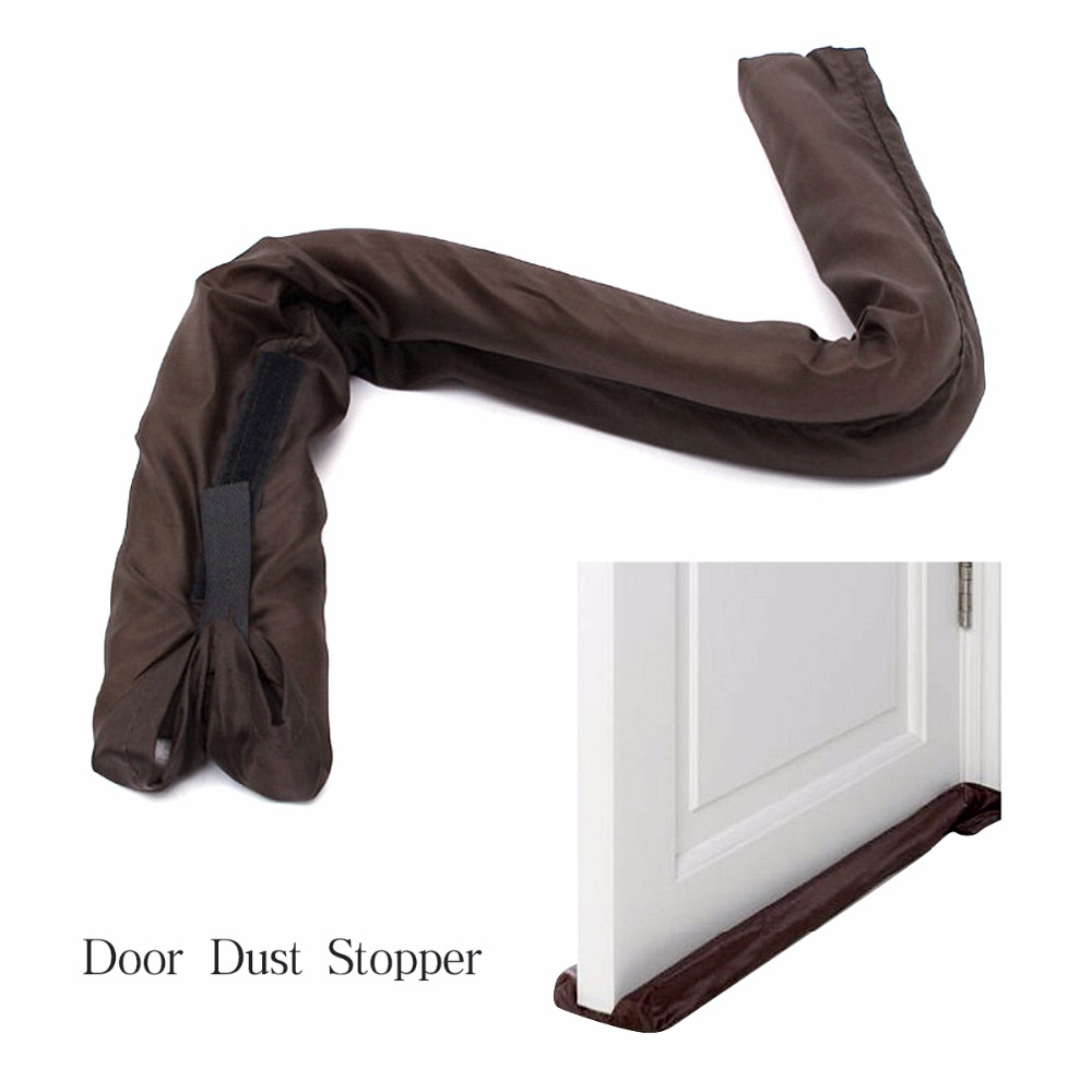 Dust Cold Polluted Air Draft Dodger Guard Stopper Preventer Doorstop Door Protective Cover Home Decor