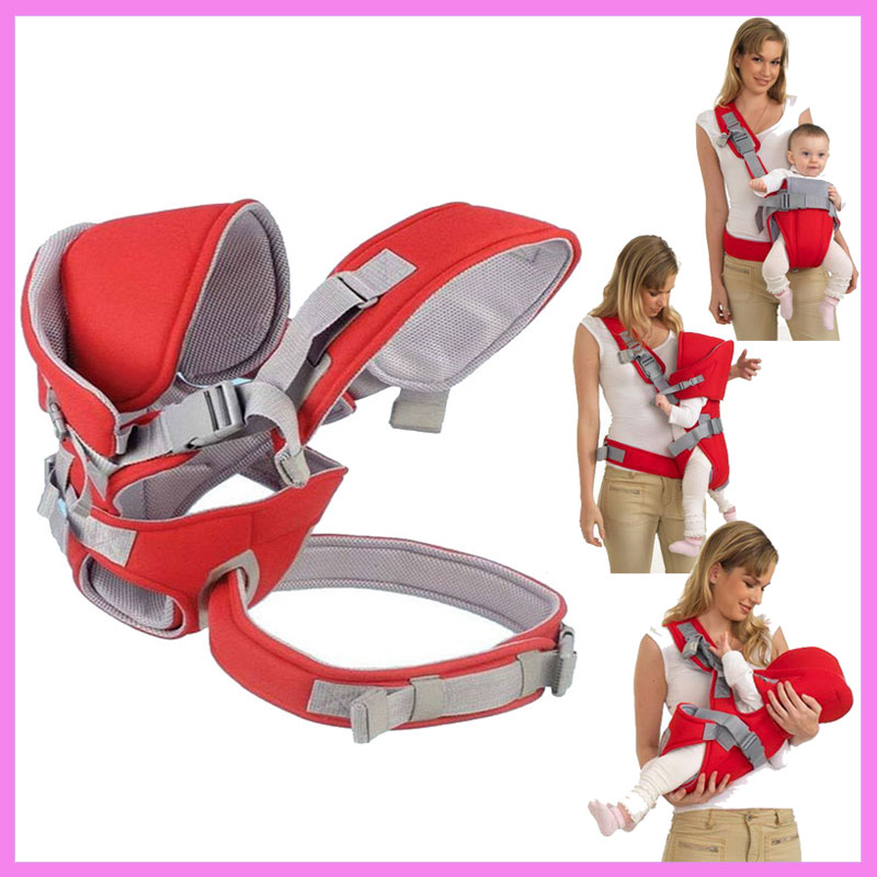 Multi Function Single Shoulder Baby Backpack Carrier Harness Kangaroo Baby Wrap Sling Front Facing Ergo Toddler Hipsit Carrier