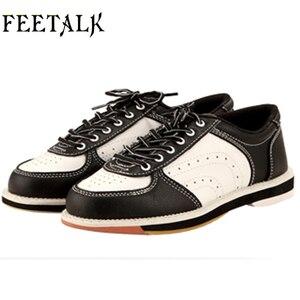 Unisex buty do gry w kręgle mężczyźni kobiety Skidproof Sole profesjonalne sportowe buty do gry w kręgle slip sneakers 011