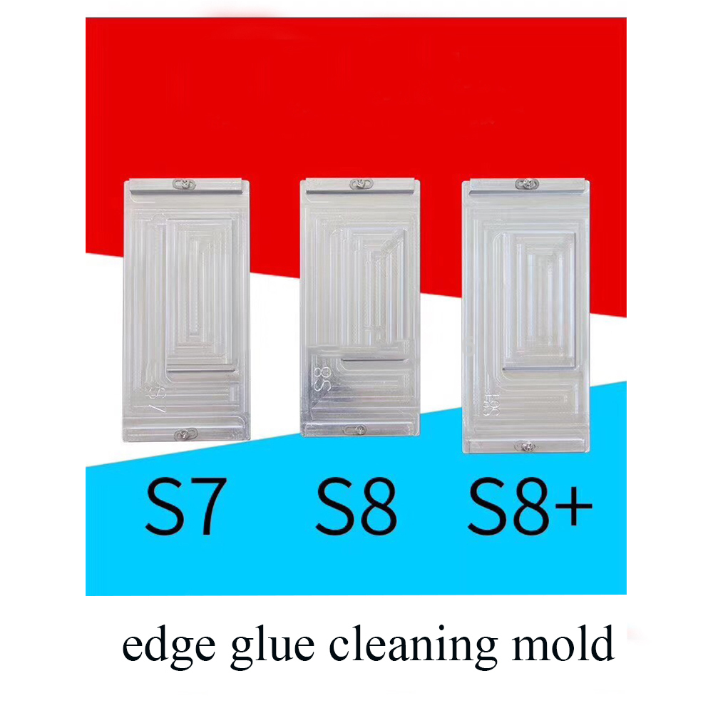 in Frame glue cleaning mold for S7 edge S8 S8 plus Note 8 LCD heating glue cleaning easy and efficient for mobile phone repair 02