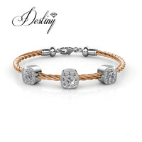Destiny Jewellery Embellished With Crystals From Swarovski Bracelet Caring Bracelet Cushy Bangle DB0107