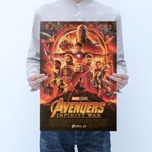 Los vengadores de Marvel 4 Figuras del juego final pósteres de película Vintage juguetes 2020 nuevo Los vengadores de Marvel Figuras de superhéroes juguetes pósteres decoración del hogar