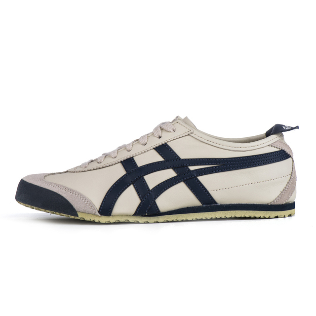 cheap for discount d686b bade4 US $125.39 |ONITSUKA TIGER men's and women's shoes couple leisure jogging  retro shoes non slip rubber badminton shoes DL408 1659-in Badminton Shoes  ...