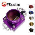 VR RACING-Новый 65 мм Корпус дроссельной заслонки производительность впускной коллектор Заготовка алюминиевый высокий поток VR6965