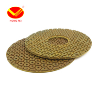 HongFei 1 PCS125mm 5 Metal Diamond Polishing Pads 5inch Grit50 500 Wet Polishing Diamond Granit Marble