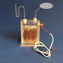 Вертикальный мембранный электролизатор, J2605 электролитический насыщенный соленый водный химический инструмент, устройство для производства водорода
