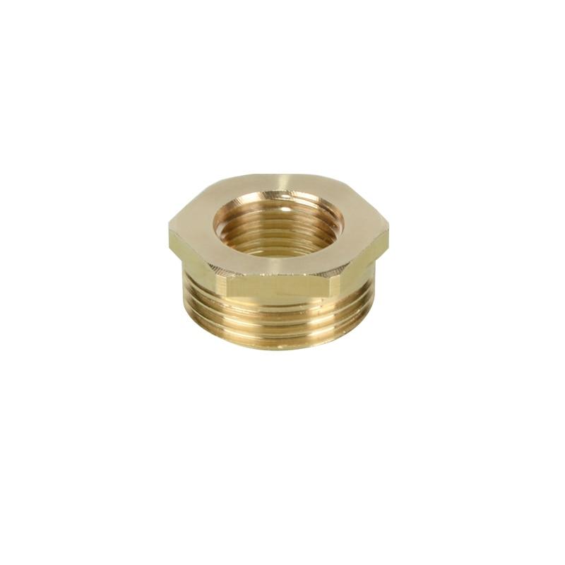 "5PCS 1//4/"" Male x 3//8/"" BSP Female Adapter Reducer Brass"