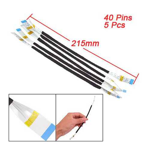 CAA- 5 Pcs 40 Pin AWM 20624 80C 60V V-W-1 Flexible Flat Cable
