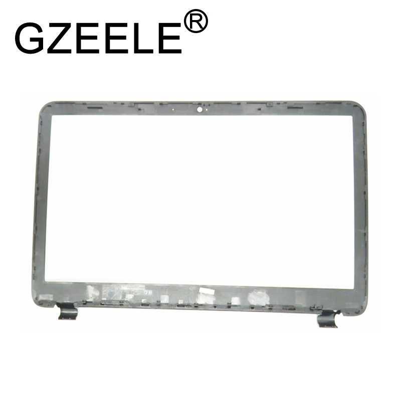 "GZEELE новый для hp 250 255 256 G3 ЖК дисплей передняя панель 15-g029wm 15 г 15-G 15-G001XX 15-R030WM Панель рамка чехол AP14D000220 15,6"""