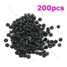 U119 200 Pcs Rubber Grommets Nipples For Tattoo Machine Needles Armature Bar Supply