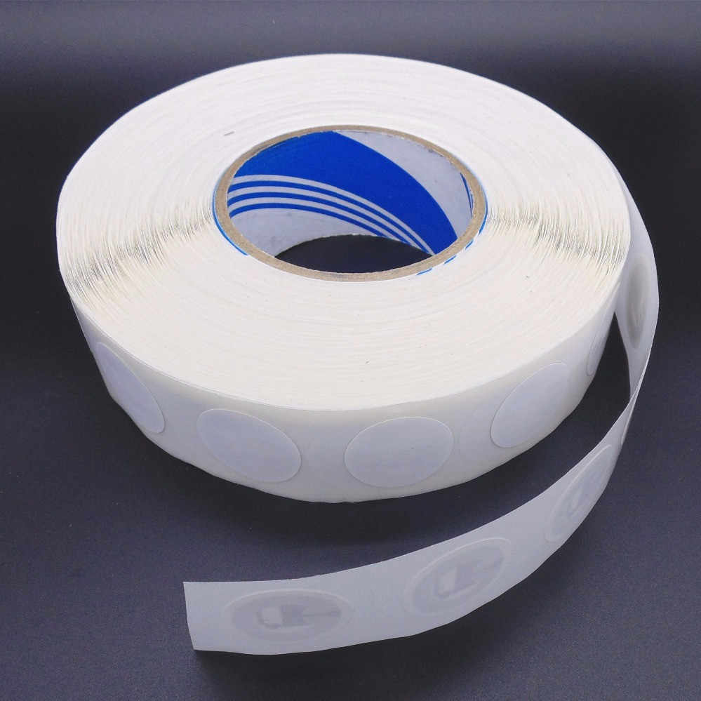 (10 stks/partij) 25mm Wit NFC Stickers Protocol ISO14443A13.56MHz NTAG 213 Universele Label RFID Tags en Alle NFC Telefoons