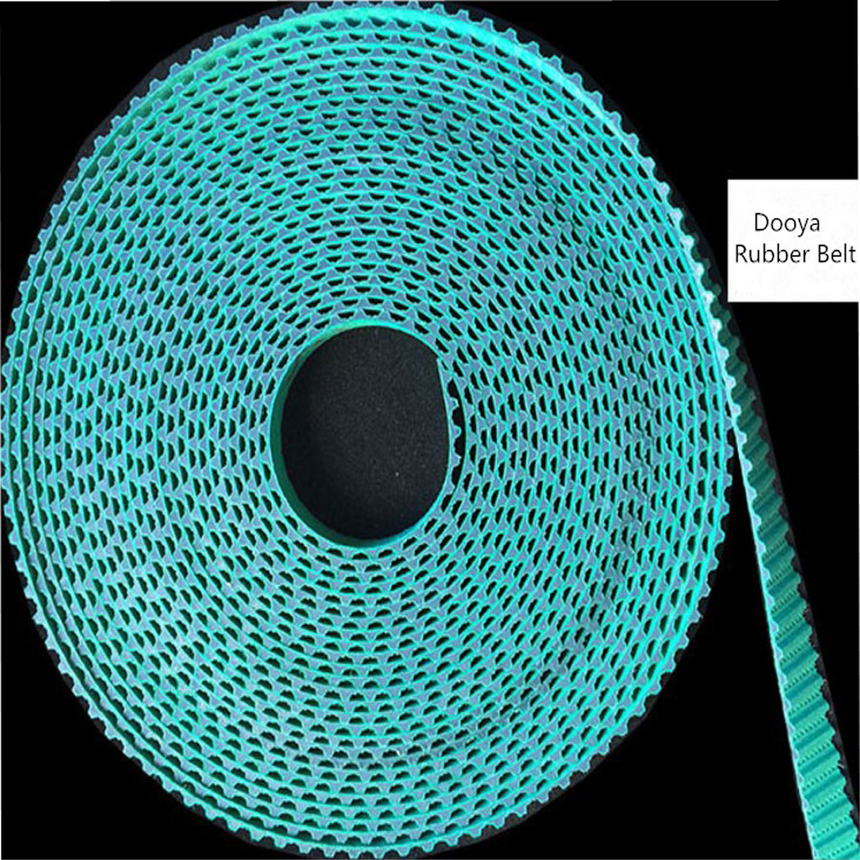 1 Metre High Quality Smart Home Dooya Rubber Belt For Electronic Curtain Track Pole Dooya Curtain Accessories 10.5MM Width