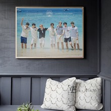 BTS Kpop Korean Music Stars Poster And Print Canvas Art Painting Wall Pictures For Living Room Decoration Home Decor No Framed