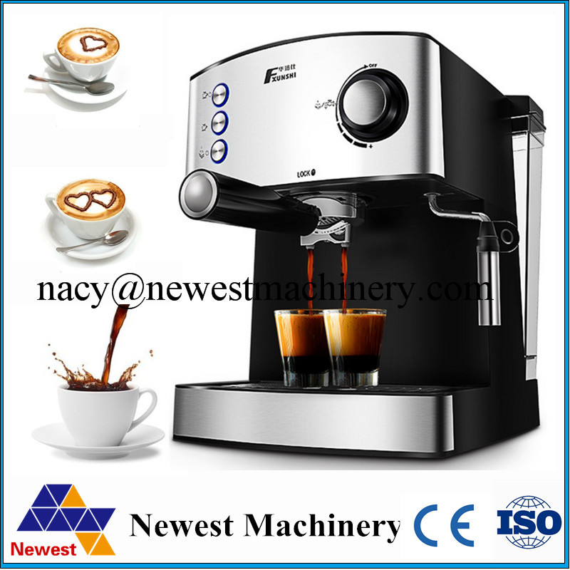 Commercial Automatic Espresso Black Coffee Machine Portable Drip Maker Cuccino With Milk Steaming High Quality In Food Processors From Home