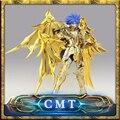Grandes Brinquedos Ex Saga de Gêmeos alma de ouro Saint Seiya Mito Pano De Ouro Armadura De Metal Figura de Ação