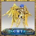 Grandes Juguetes Ex Gemini Saga alma de oro Saint Seiya Myth Cloth Oro Metal Armor Figura de Acción