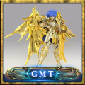 Great Toys Ex Gemini Saga soul of gold Saint Seiya Metal Armor Myth Cloth Gold Action Figure